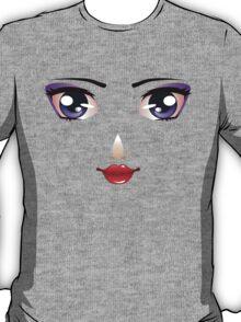 Cartoon female face 5 T-Shirt