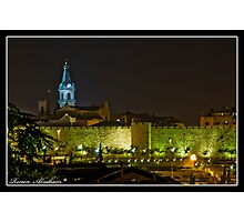 Church of st fransisco in Jerusalem Photographic Print