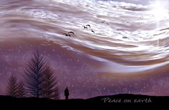 Peace on Earth by Holly Kempe