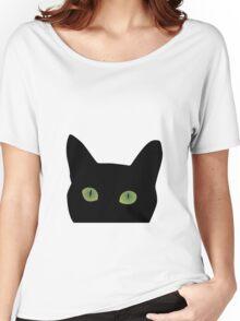 Cat peek a boo Women's Relaxed Fit T-Shirt
