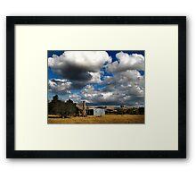 Dry Season Framed Print