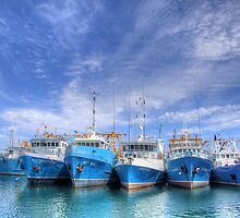 Fishing Fleet Fremantle WA - HDR by Colin  Williams Photography