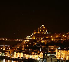 OPORTO by night by acmoreira