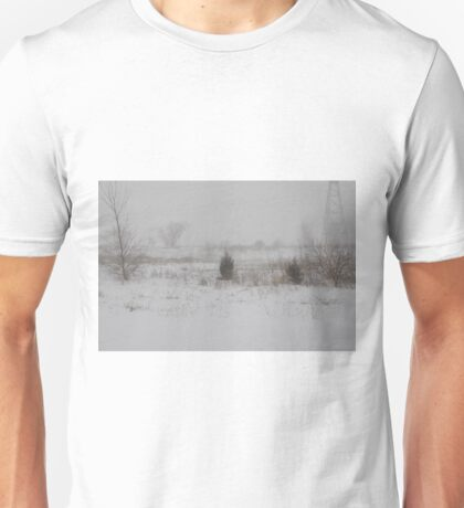 Winter scene 2-14-2015 Unisex T-Shirt