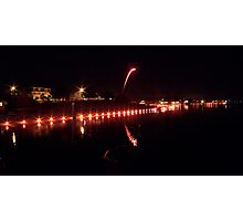 Illumination Night, Onset Bay MA Photographic Print