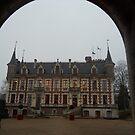 Town hall at Saint Florent Sur Cher, France by jclegge