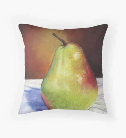 loney pear Throw Pillow