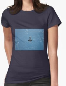 Dave Stormtrooper  Iceland Iceberg Womens Fitted T-Shirt
