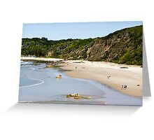Shelly Beach Greeting Card