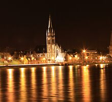 Night Steeples by Rob Outram