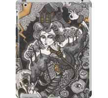 She Was A Haunted House iPad Case/Skin