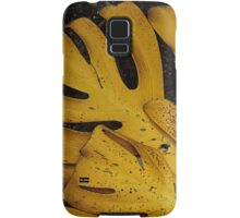 Not The Usual Fallen Leaves Samsung Galaxy Case/Skin