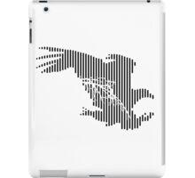 Lined Eagle iPad Case/Skin