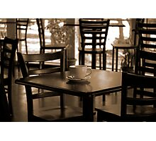 Coffee House Photographic Print