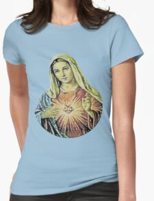 Our Lady of the Sacred Heart Womens Fitted T-Shirt