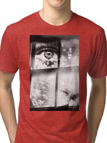 The face at the window Tri-blend T-Shirt
