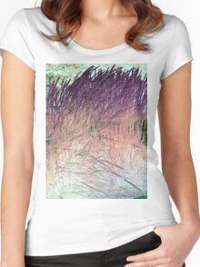 Whispy Willows 1-Available As Art Prints-Mugs,Cases,Duvets,T Shirts,Stickers,etc Women's Fitted Scoop T-Shirt