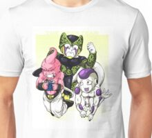 The Mean Team - Buu, Freiza, and Cell Unisex T-Shirt