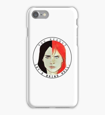 natasha and laura iPhone Case/Skin