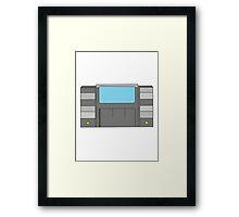 Super Nintendo Game Framed Print