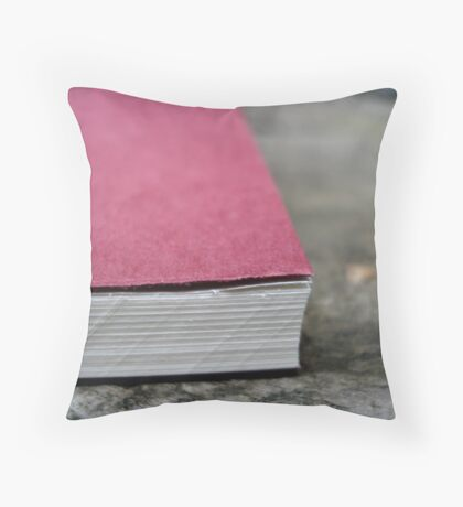Page upon page Throw Pillow