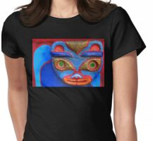 Blue Cat Womens Fitted T-Shirt
