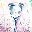 Watercolor Wine by Tigger777