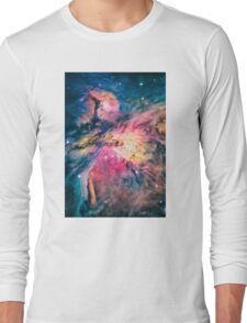 The awesome beauty of the Orion Nebula  Long Sleeve T-Shirt