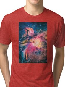 The awesome beauty of the Orion Nebula  Tri-blend T-Shirt