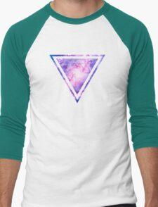 Cosmic vacuum cleaner (Spiral Galaxy M83) Men's Baseball ¾ T-Shirt