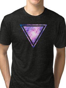 Cosmic vacuum cleaner (Spiral Galaxy M83) Tri-blend T-Shirt