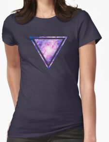 Cosmic vacuum cleaner (Spiral Galaxy M83) Womens Fitted T-Shirt