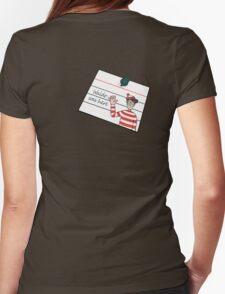 Waldo Was Here - Post it T-Shirt