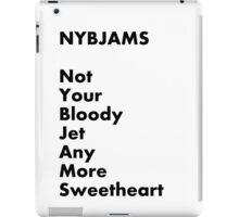 NYBJAMS iPad Case/Skin