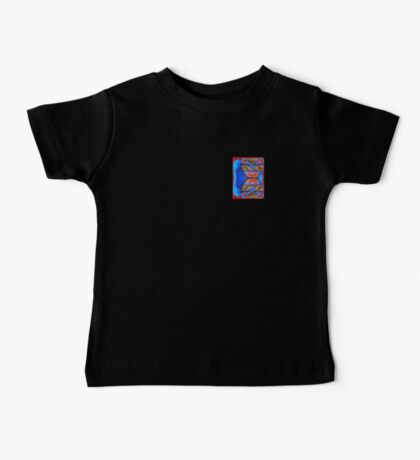 Blue Cats (small up) Baby Tee