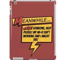 Comic Book Wifi iPad Case/Skin