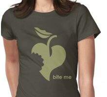 Heart Bite Me Womens Fitted T-Shirt