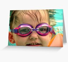 New Goggles Greeting Card