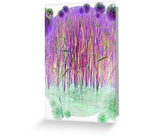 Many Coloured Reeds-Available As Art Prints-Mugs,Cases,Duvets,T Shirts,Stickers,etc Greeting Card