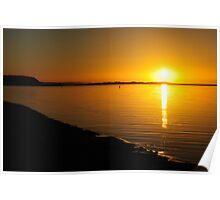 Foreshore Sunrise Poster
