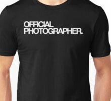 Official Photographer Unisex T-Shirt