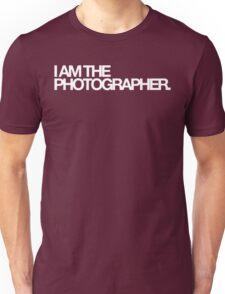I am the photographer. Unisex T-Shirt