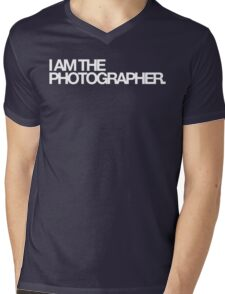 I am the photographer. Mens V-Neck T-Shirt