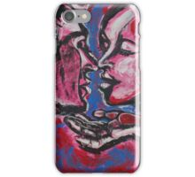 Lovers - Valentine Kiss iPhone Case/Skin