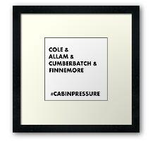 Cole & Allam & Cumberbatch & Finnemore Framed Print