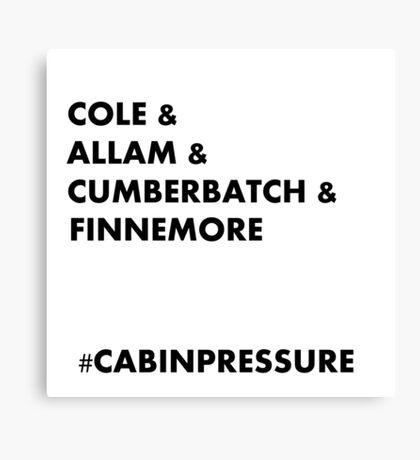 Cole & Allam & Cumberbatch & Finnemore Canvas Print