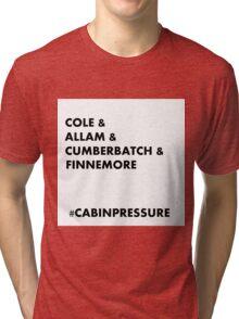 Cole & Allam & Cumberbatch & Finnemore Tri-blend T-Shirt