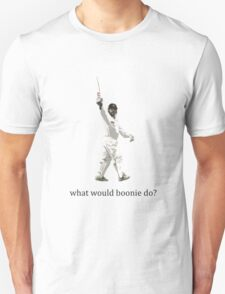 what would boonie do? Unisex T-Shirt