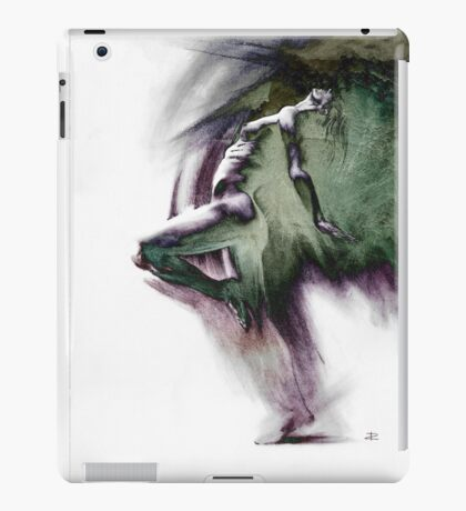 Fount i - Drawing with texture iPad Case/Skin
