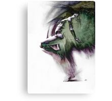 Fount i - Drawing with texture Canvas Print
